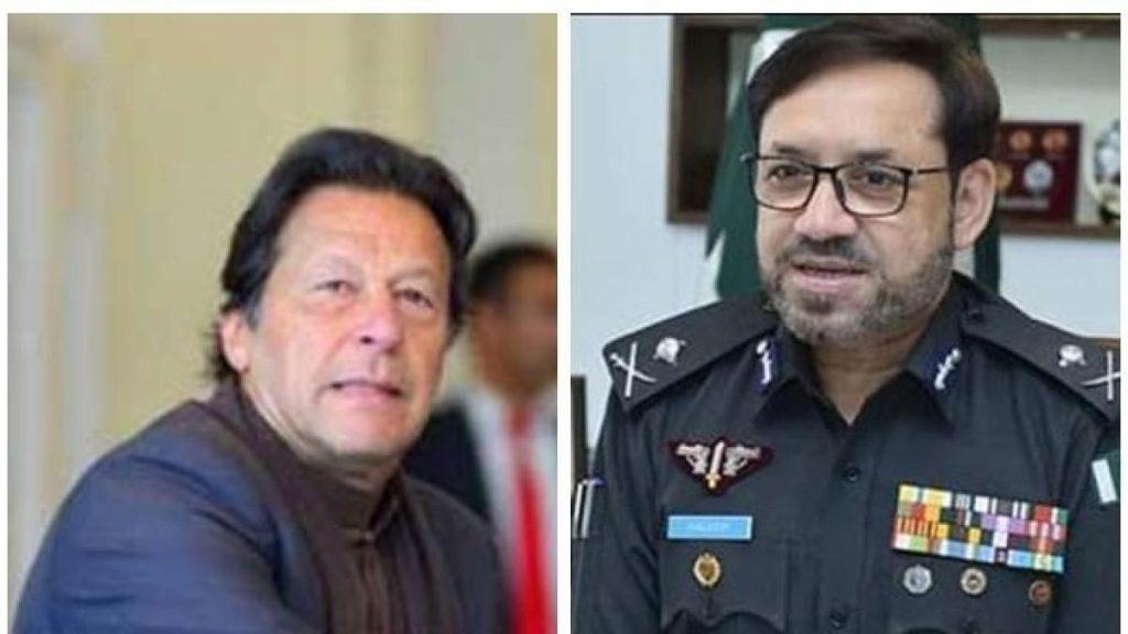 Imran meets IG Sindh
