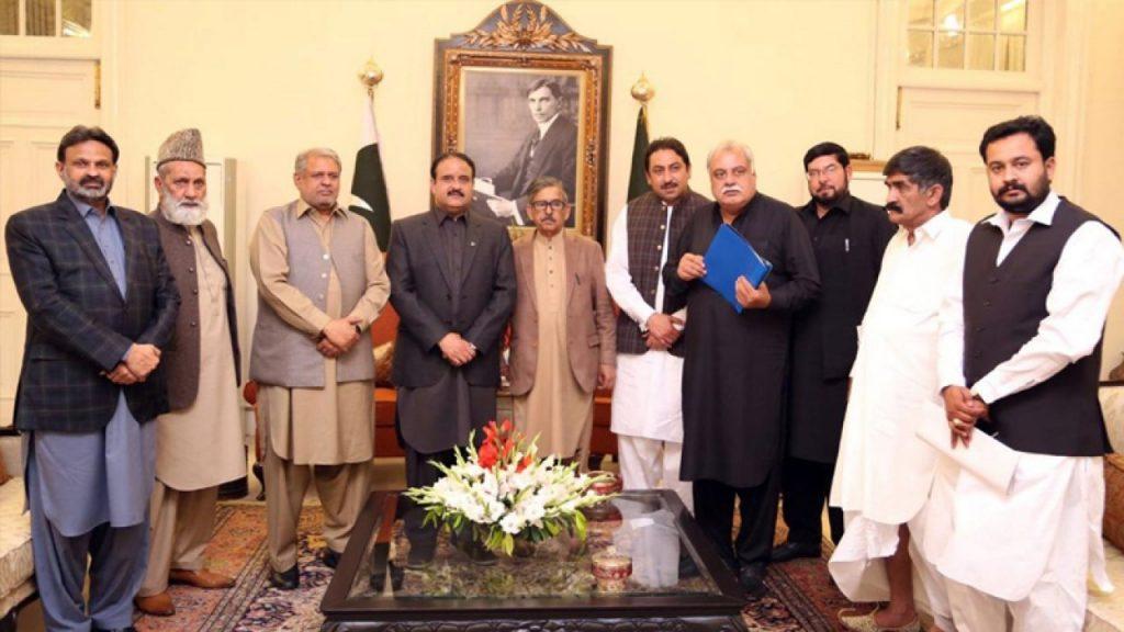 PML-N-PPP-lawmakers-meet-Buzdar-1280x720