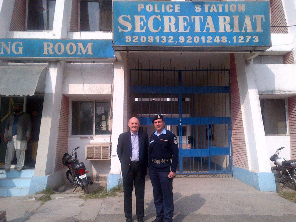Secretariat police station